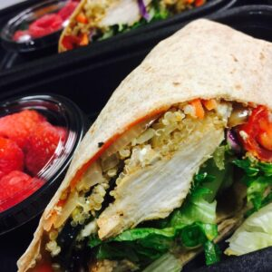 Chicken and Quinoa Wrap
