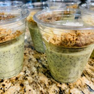 Key Lime Chia Pudding